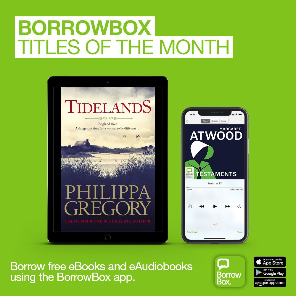 New to BorrowBox September 2019 Ebooks, Free ebooks, Library