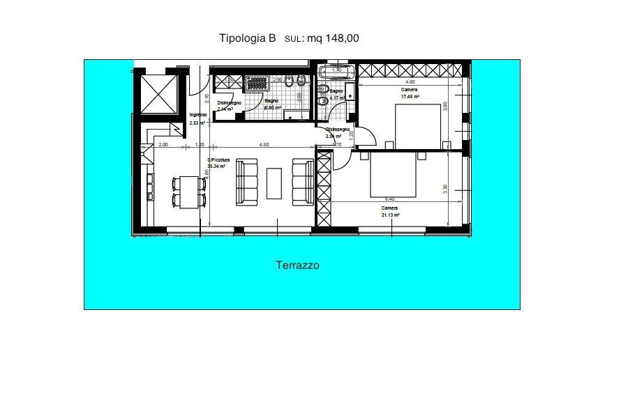 Appartamento tipologia  B