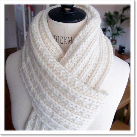 tricoter une echarpe crochet