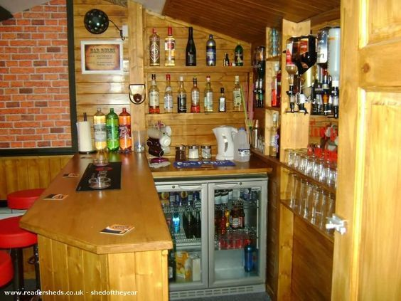 The Shed Pub Entertainment From Garden Shedoftheyear Bar Shed Backyard Bar Shed Design Plans