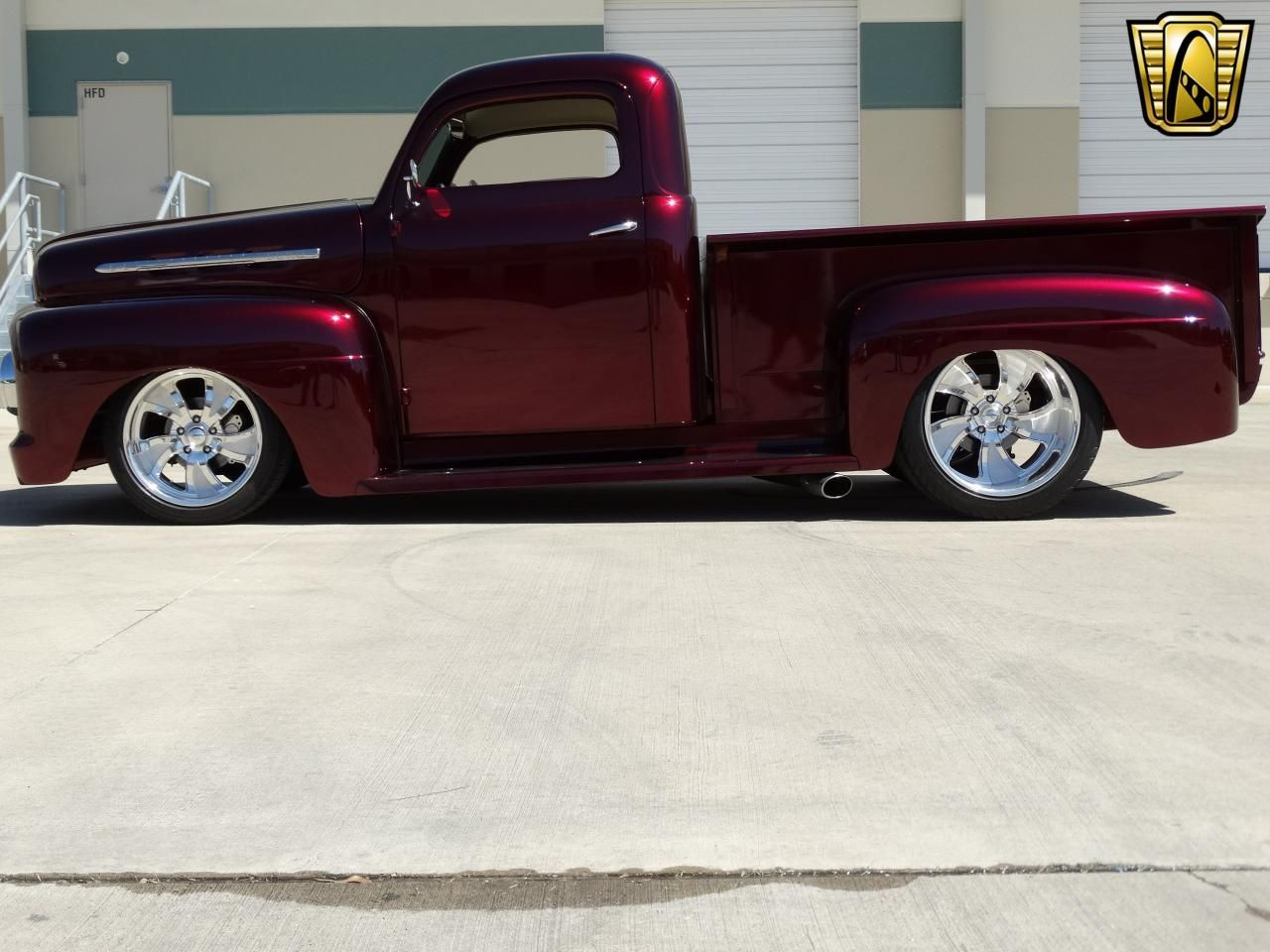For sale in our Houston, Texas showroom is a Candy Brandywine Truck ...