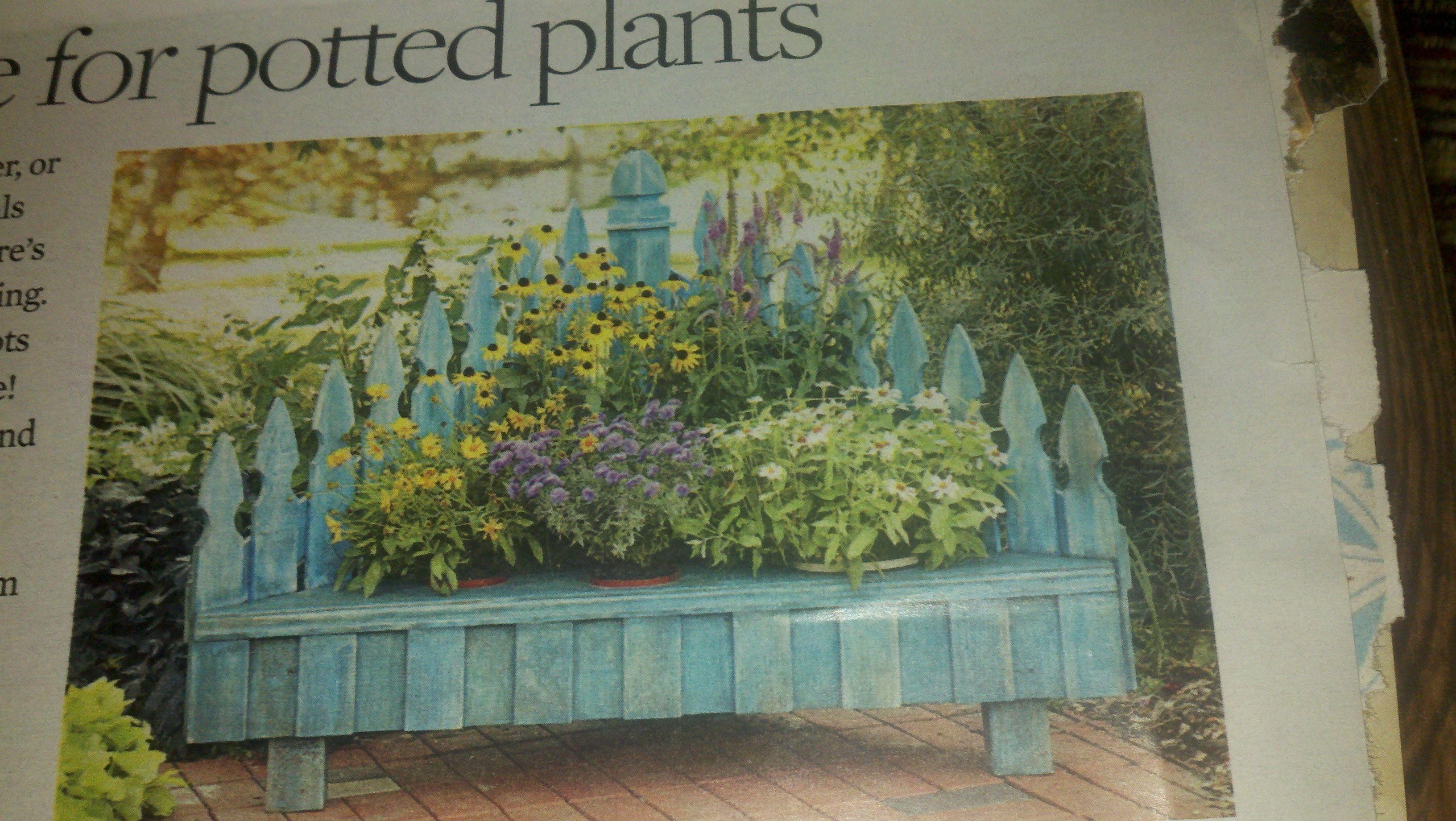Plant porch