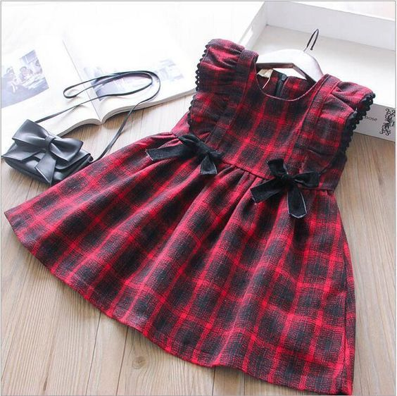 Adorable Plaid Dress