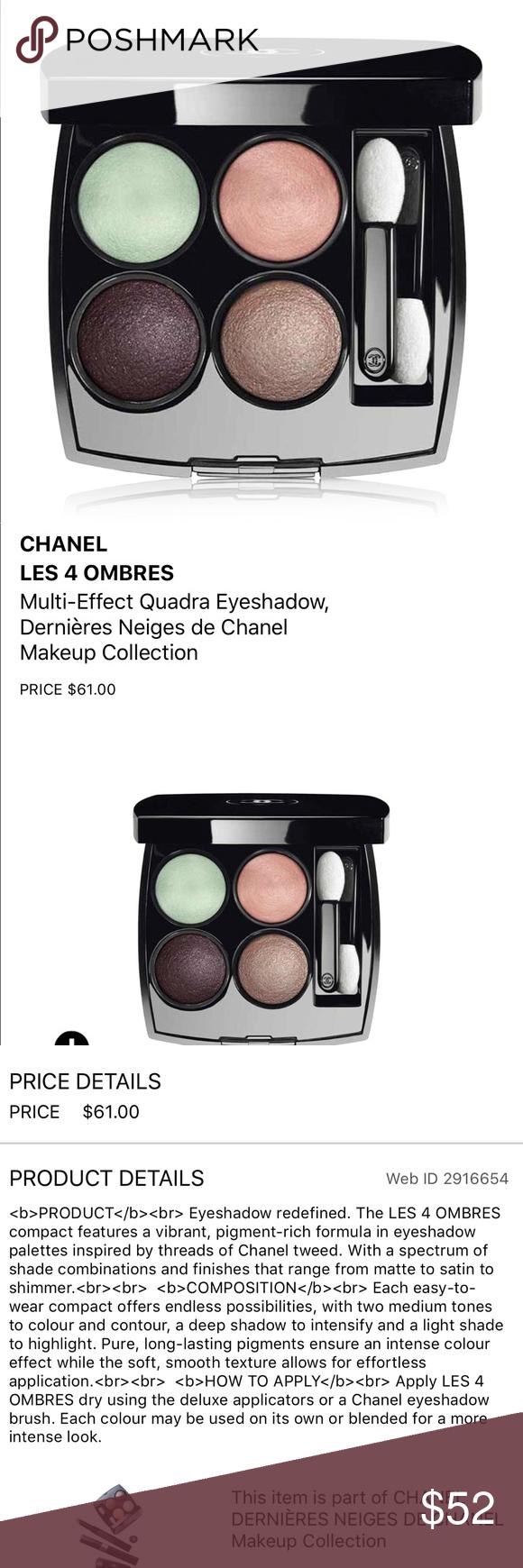 NEW Chanel Eyeshadow Chanel eyeshadow, Eyeshadow