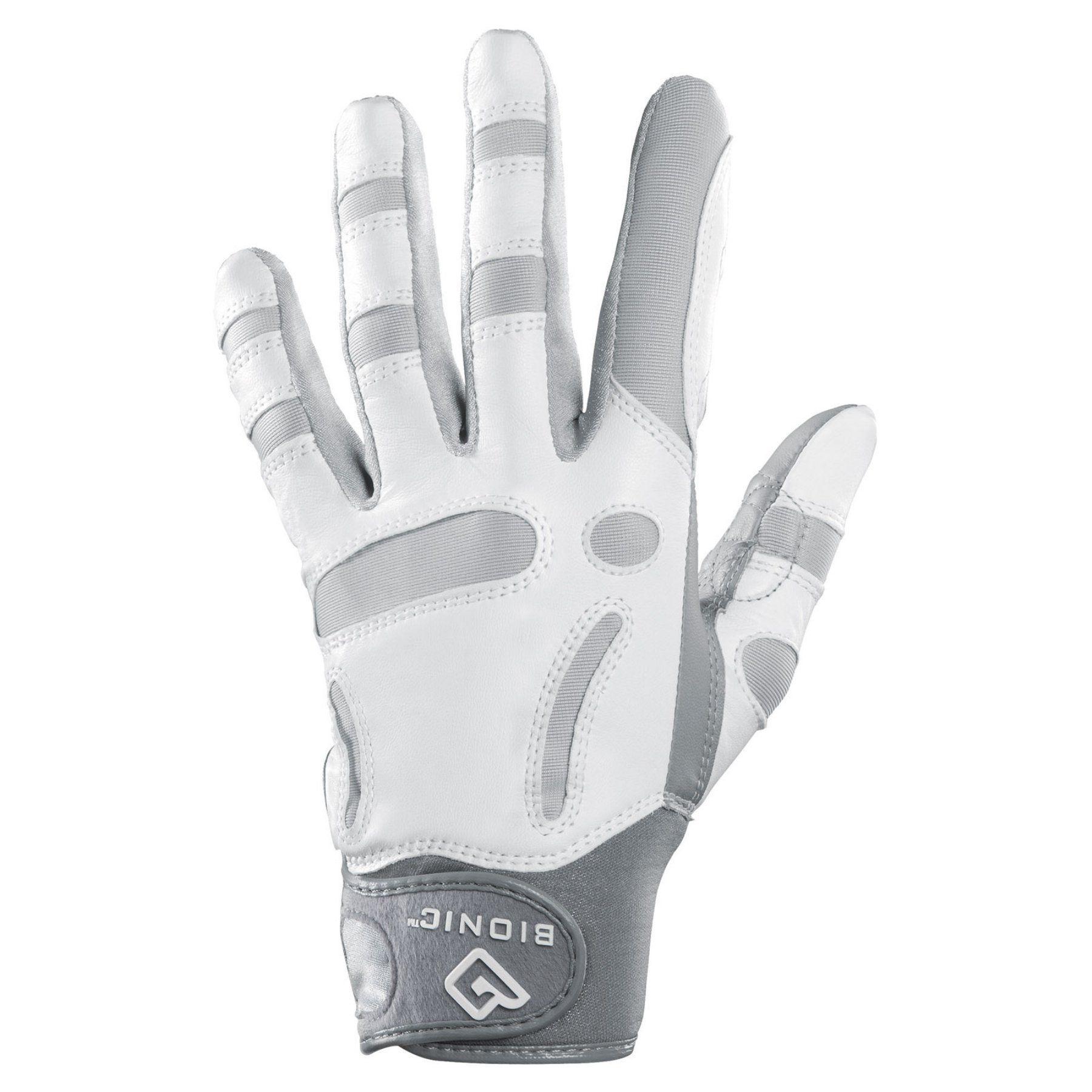 Bionic Womens ReliefGrip Golf Glove - Left - GRLFWLS