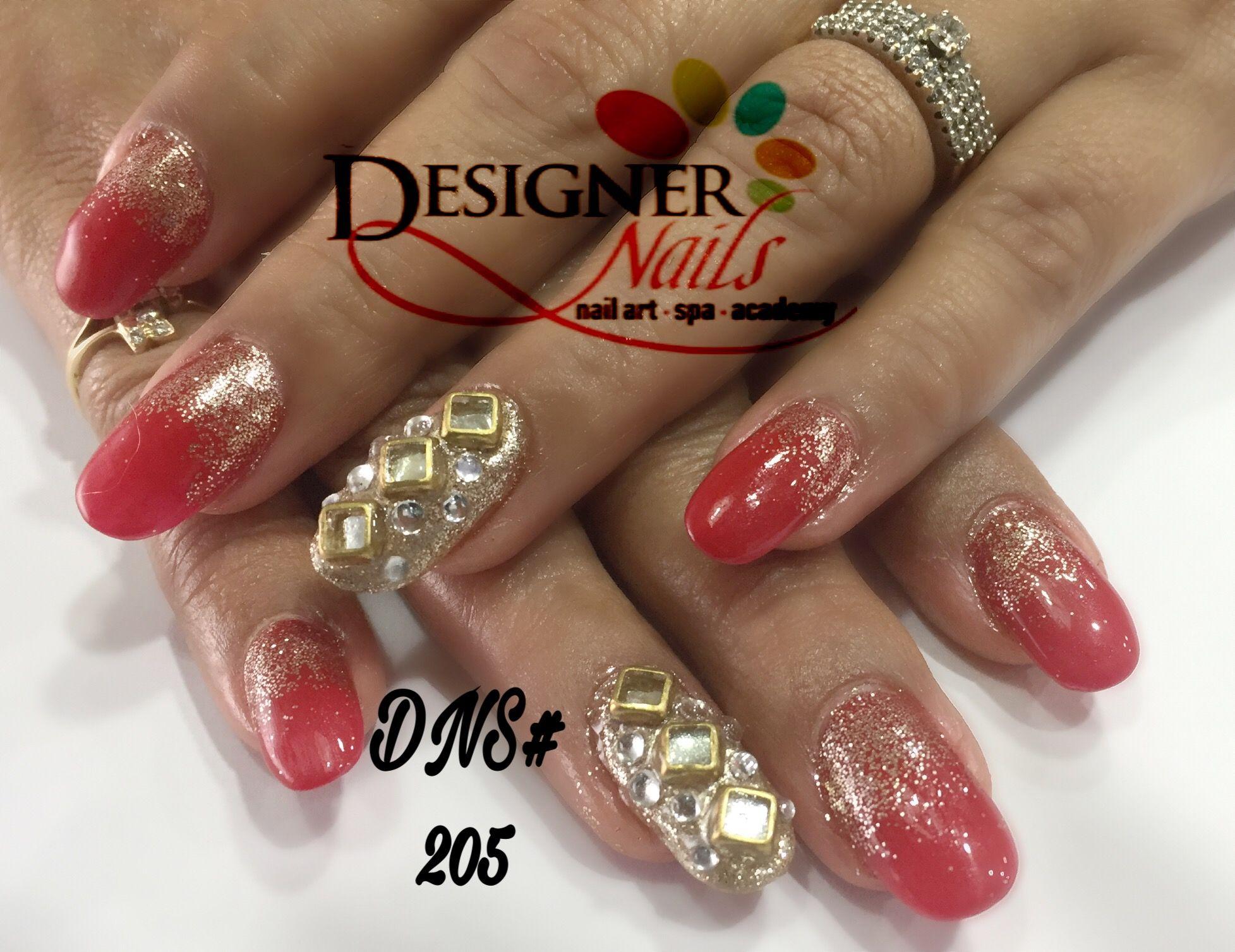 Indian bridal nail # soak off gel nail polish # red polish ...