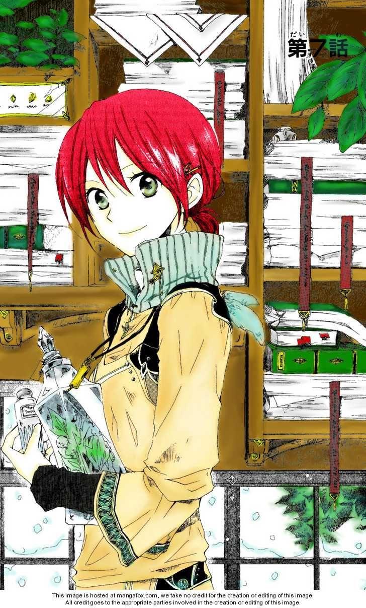 Shirayuki Akagami No Shirayukihime Anime Red Hair Akagami No Shirayukihime Akagami No Shirayuki