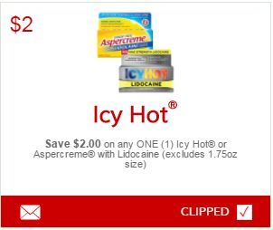 photo about Icy Hot Coupons Printable identify Pin as a result of Erica Hart upon i ♥ discount coupons