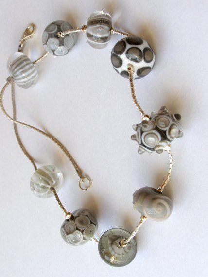 Lampwork Bead Necklace