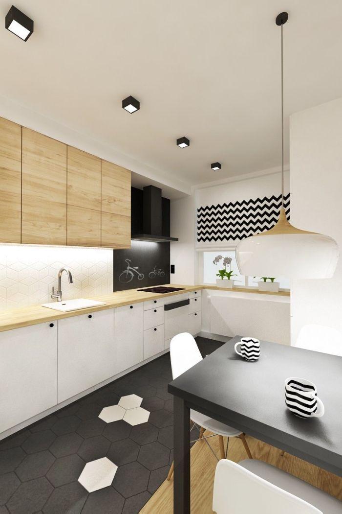 idée comment associer les couleurs neutres dans une cuisine moderne