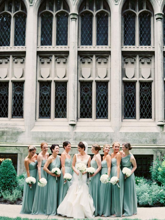 Mint J Crew Bridesmaid Dresses
