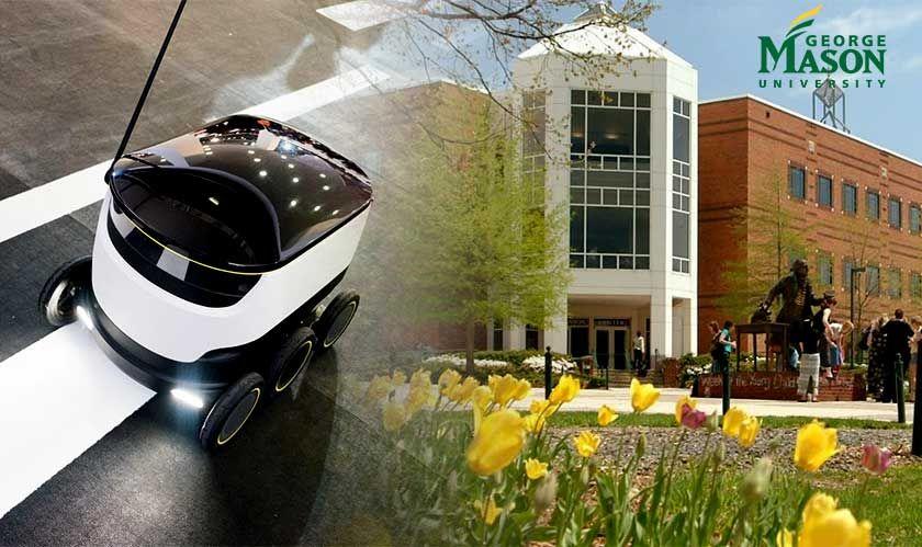 Georgemasonuniversity Students Experience Next Level Of Delivery George Mason University University Student Student