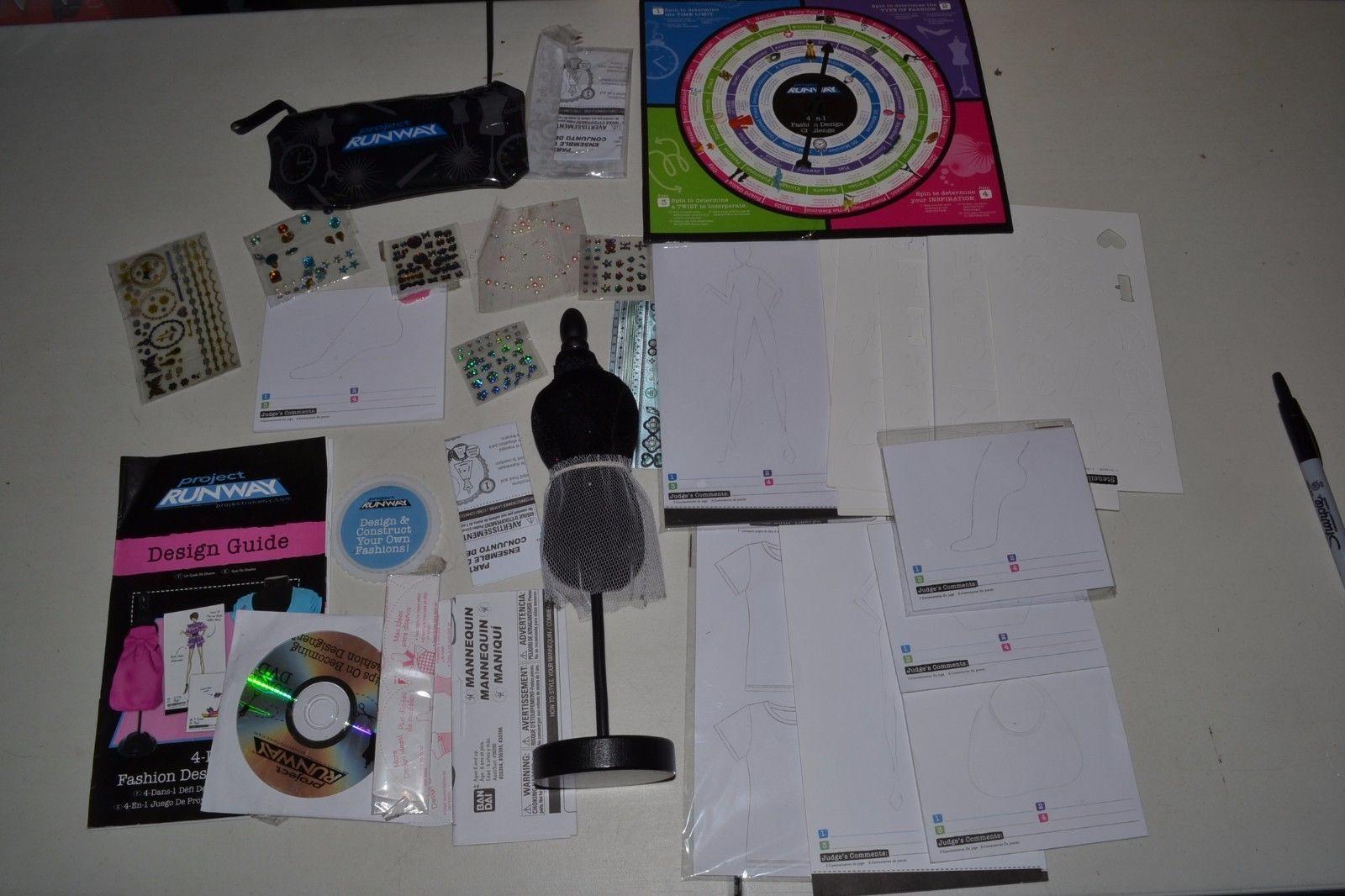 Project Runway Accessory Design Challenge Sketch Book Set Fashion Adch Ebay Design Challenges Accessories Design Sketch Book