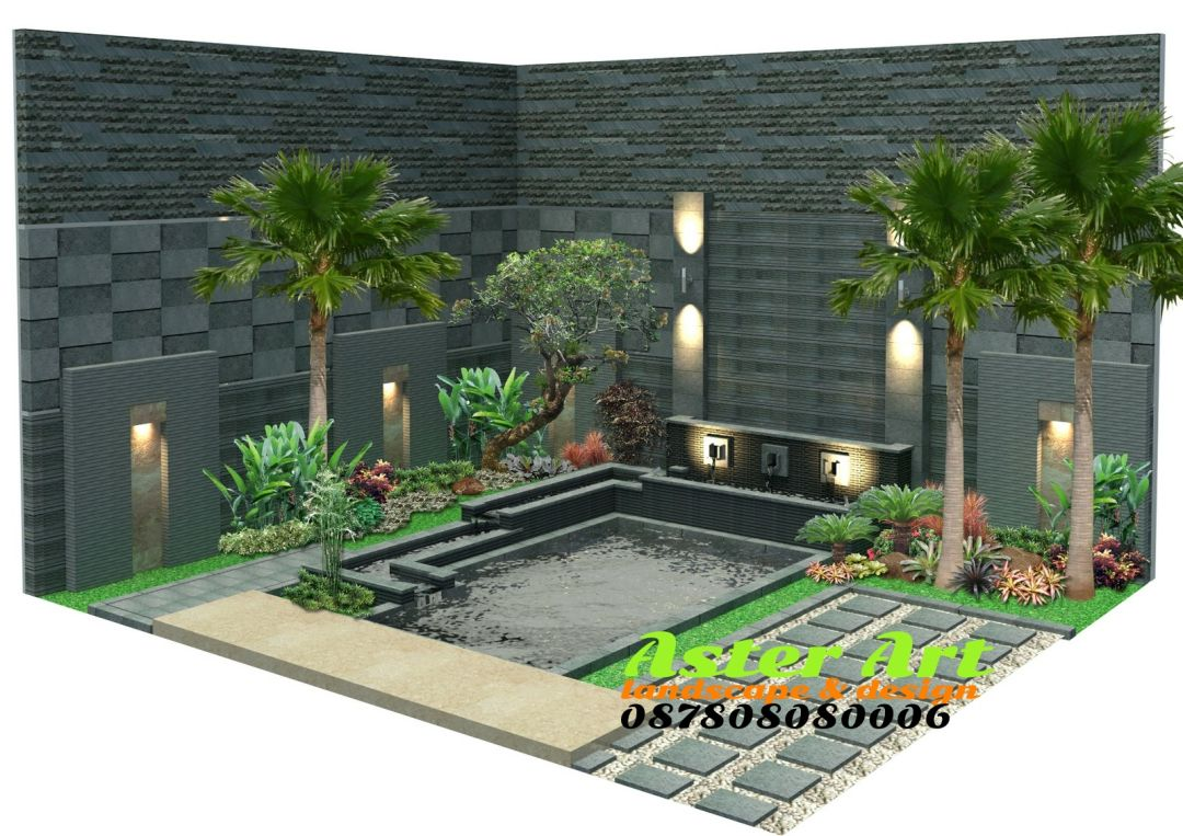Desain Atap Kolam Ikan Didalam Rumah Cek Bahan Bangunan