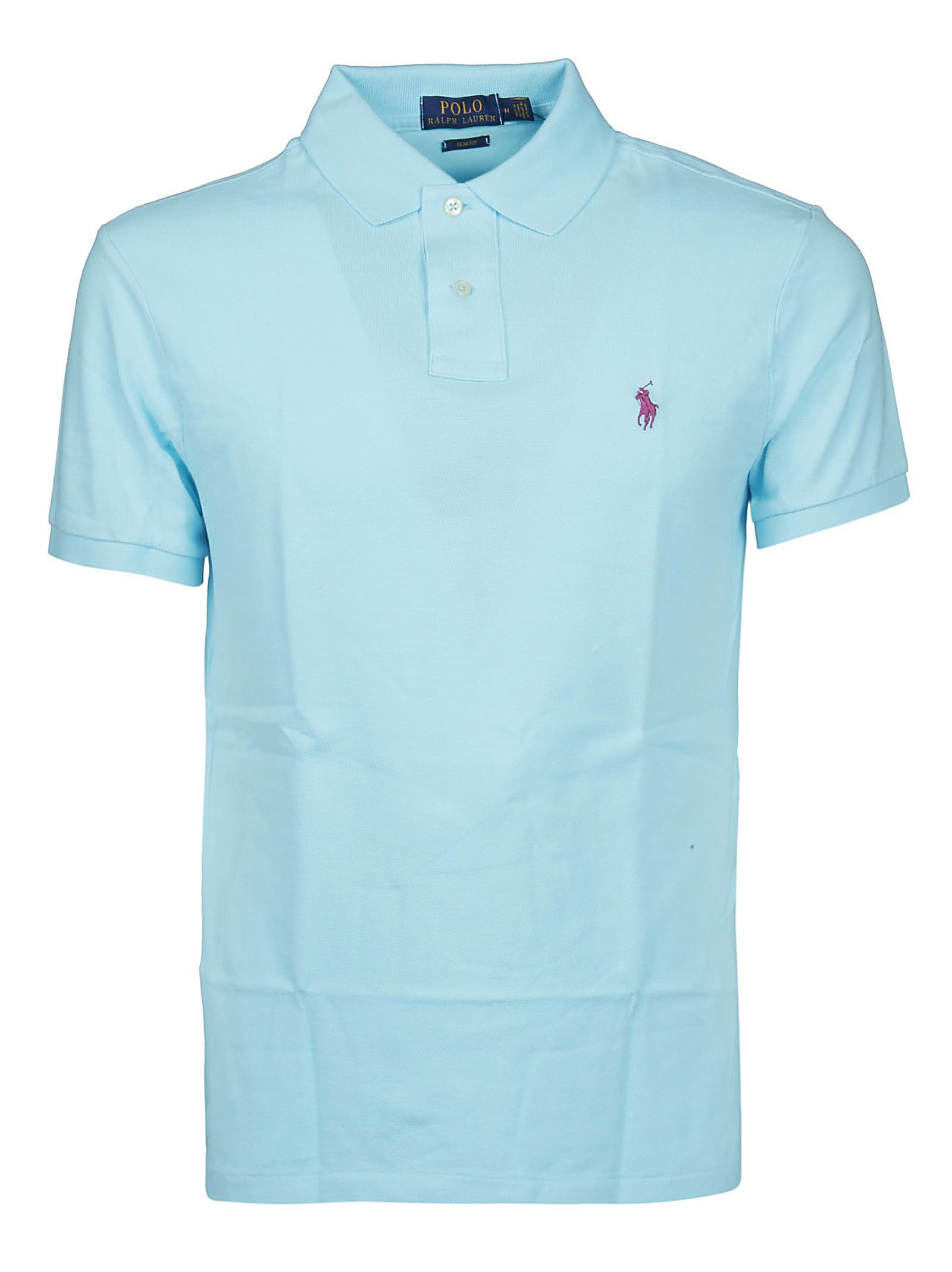 Chest Logo Polo Shirt In Hammon Blue