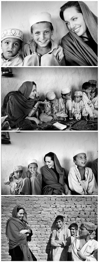 Angelina Jolie, Afghanistan, 2008