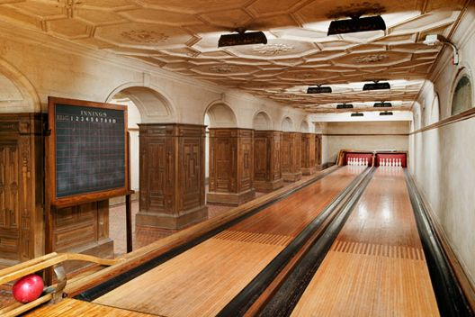Boutique Home Bowling Alley Photo Gallery Home Bowling Alley Secret Rooms Home