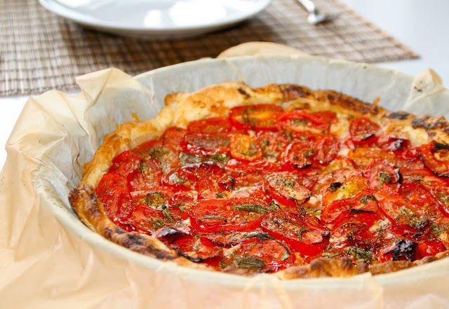 Camilla & Katrines Køkkenkalas: Fransk Tomattærte