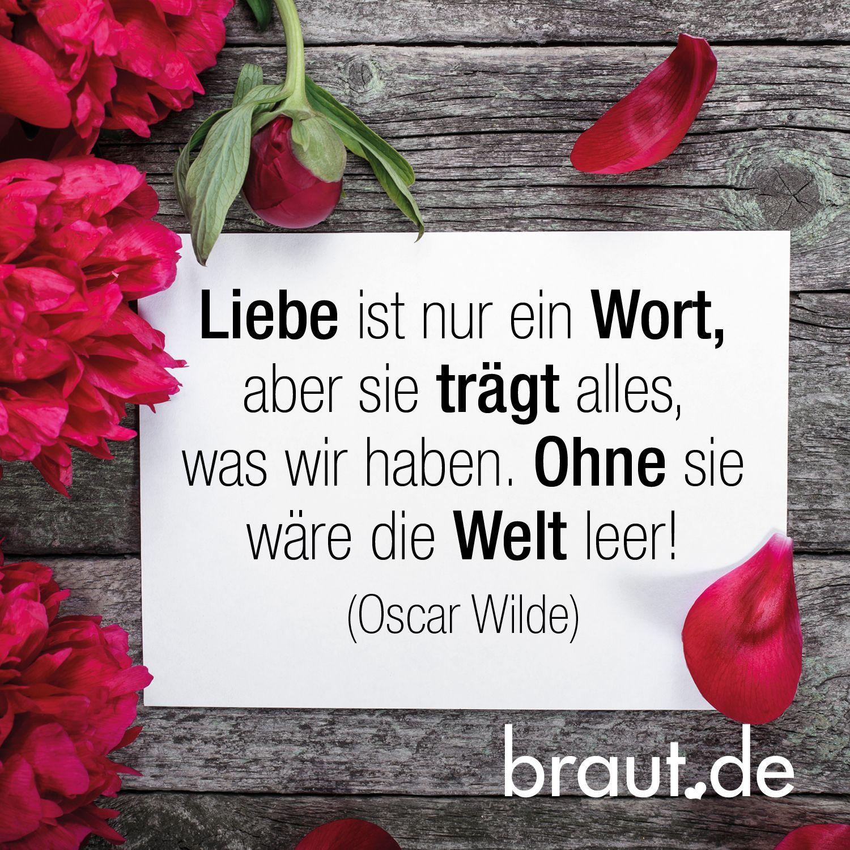 Liebeszitat Liebesspruch Von Oscar Wilde Spruche Hochzeit Ehe Spruche Gedichte Zur Hochzeit