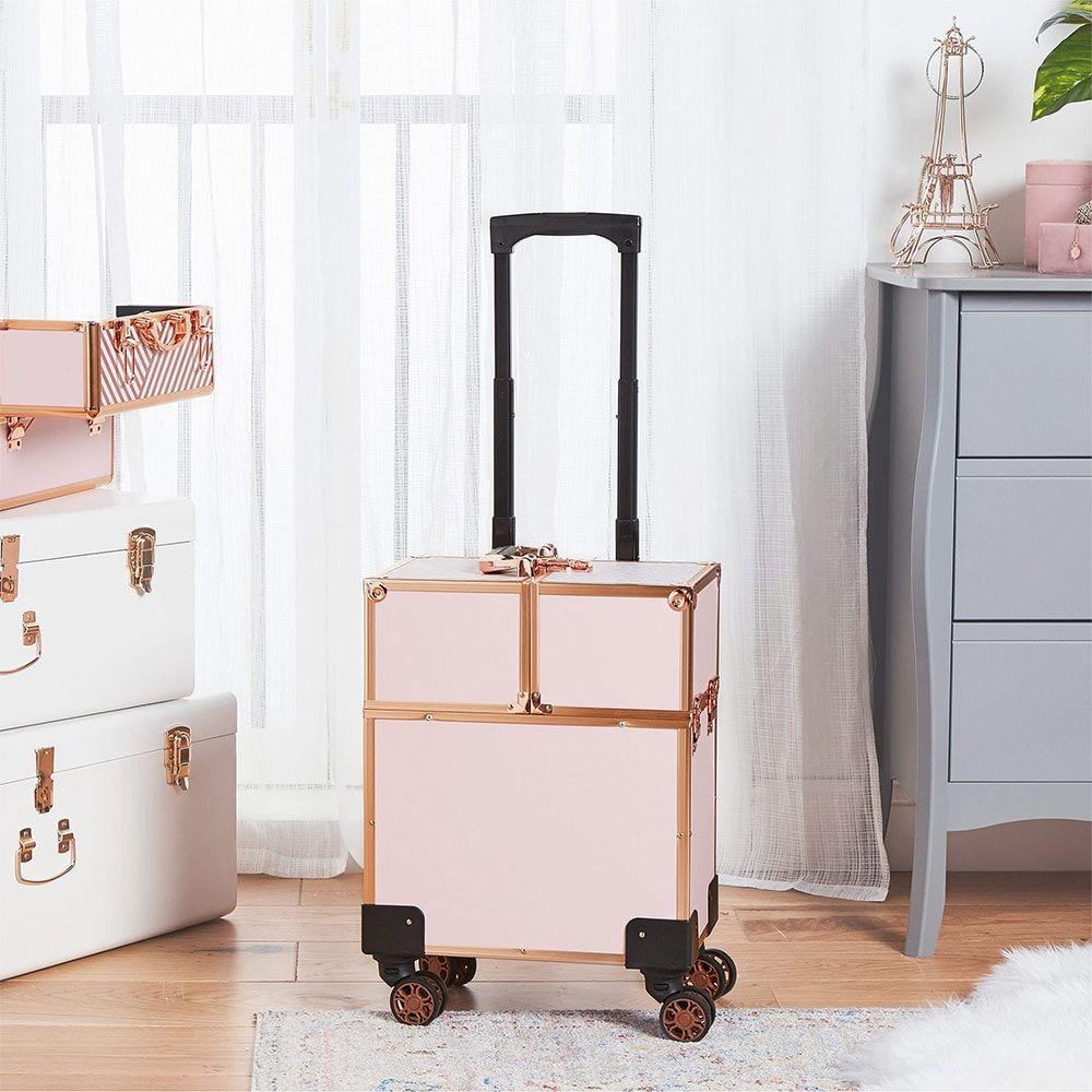 Beauty Trolley in 2020 Headboard with shelves, Storage