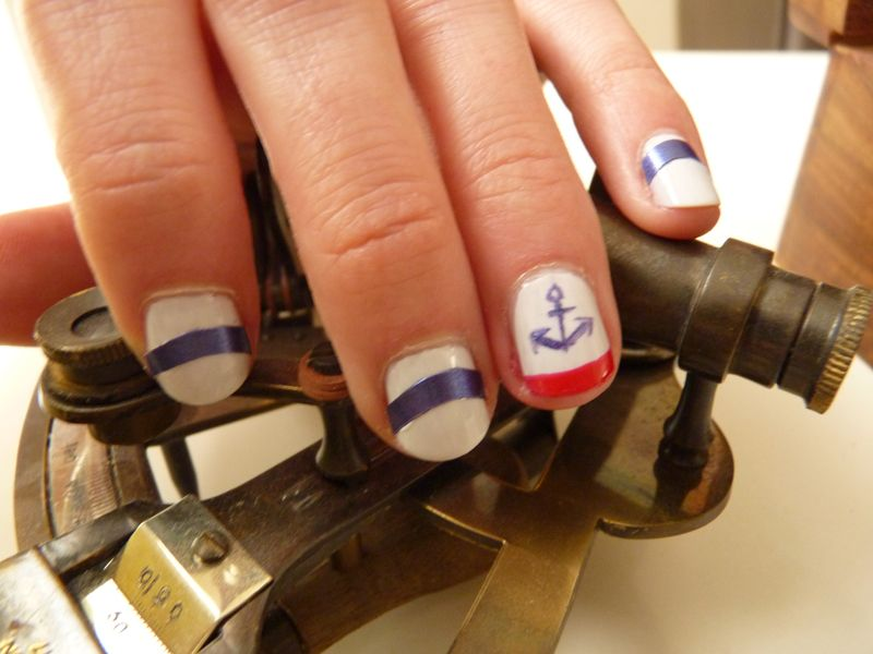 The Sunday Nail Battle - In the Navy