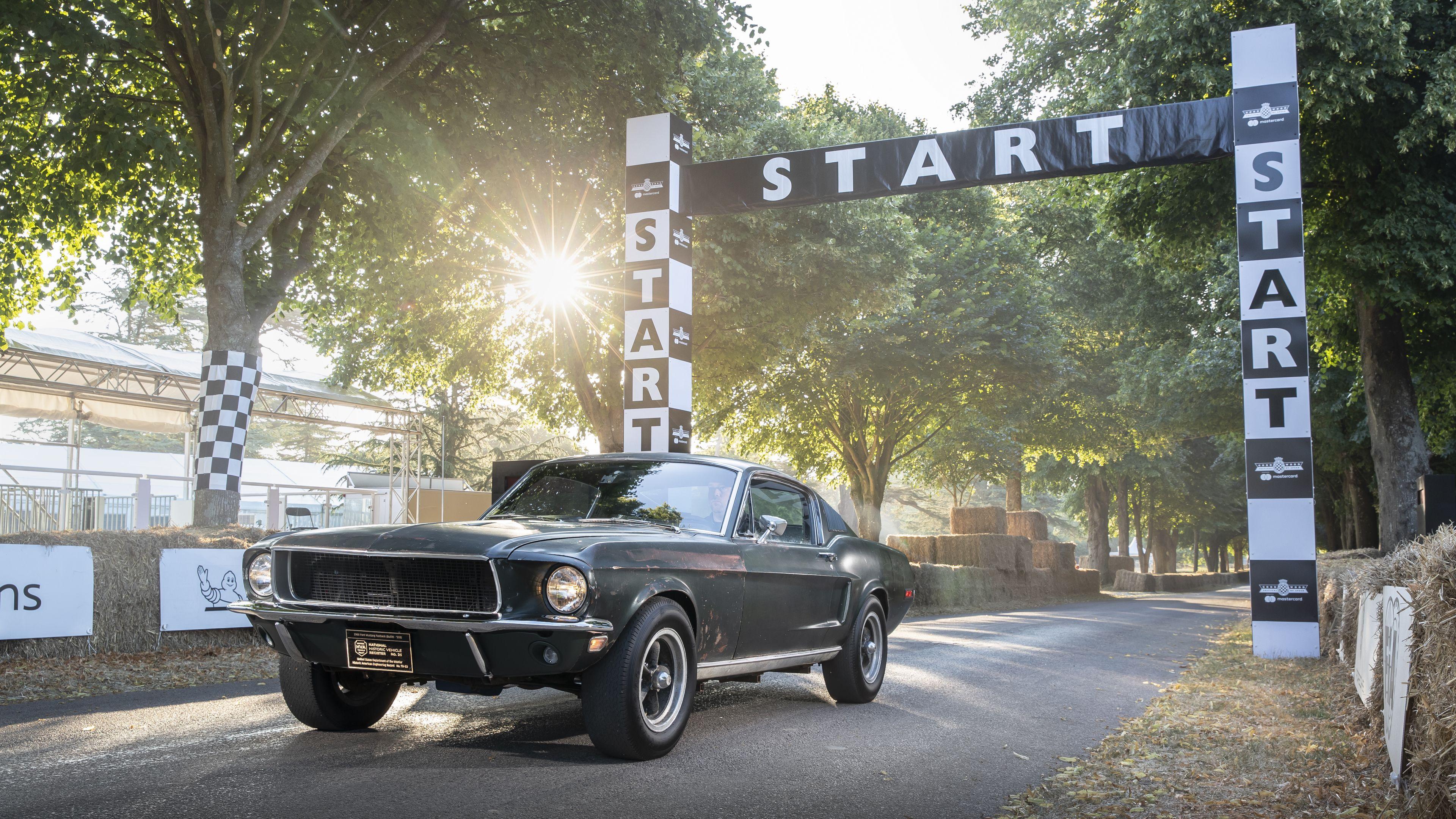 1968 Mustang Gt Fastback 4k Wallpaper Mustang Wallpapers Hd