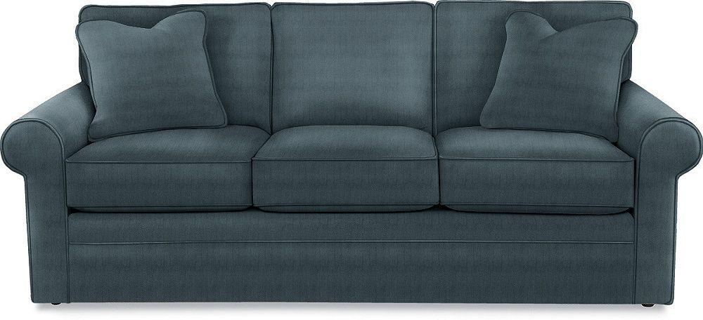 la-z-boy collins sofa - performance fabric (velvet-like?) in ...
