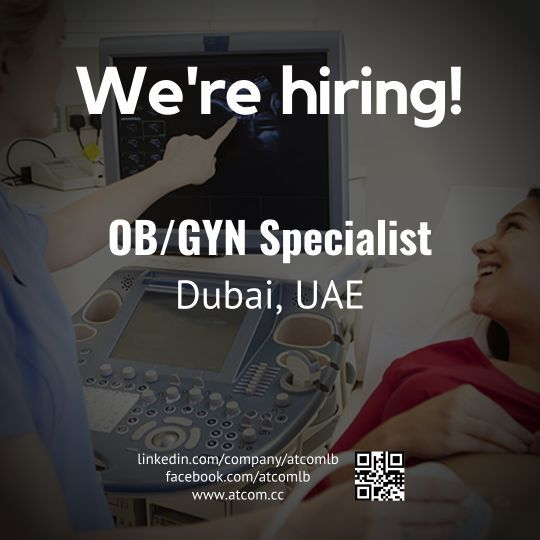 Dubai Jobs | OB/GYN Specialist (DHA Licensed or Eligibility Letter)  Check out our advert link:   #Jobs #Dubai #UAE #DHA #DHCC #HAAD #AbuDhabi #Sharjah #OBGYN #MRCOG #Obetsteics #Gynecology #Doctor #Doctors #Jordan #Lebanon #Iraq #Syria #UK #London #DubaiDoctors #UAEDoctors #DoctorsJobs #DoctorJobs #MDJobs #DRJobs #SyrianDoctors #LebaneseDoctors #JordanianDoctors