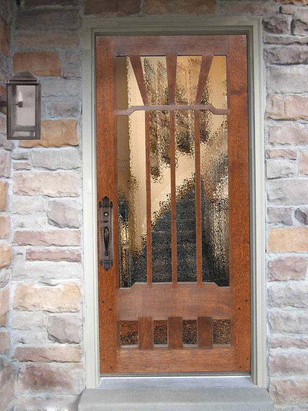 Craftsman Door Design From Historic Record 3160st
