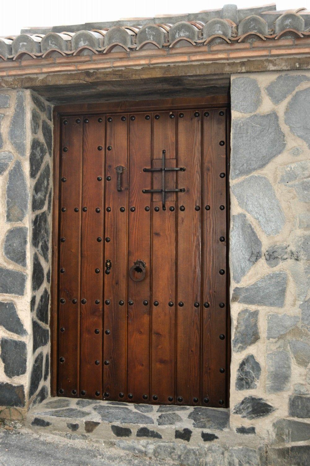 Puertas de madera antiguas en 2019 puertas en ambientes - Puerta rustica exterior ...