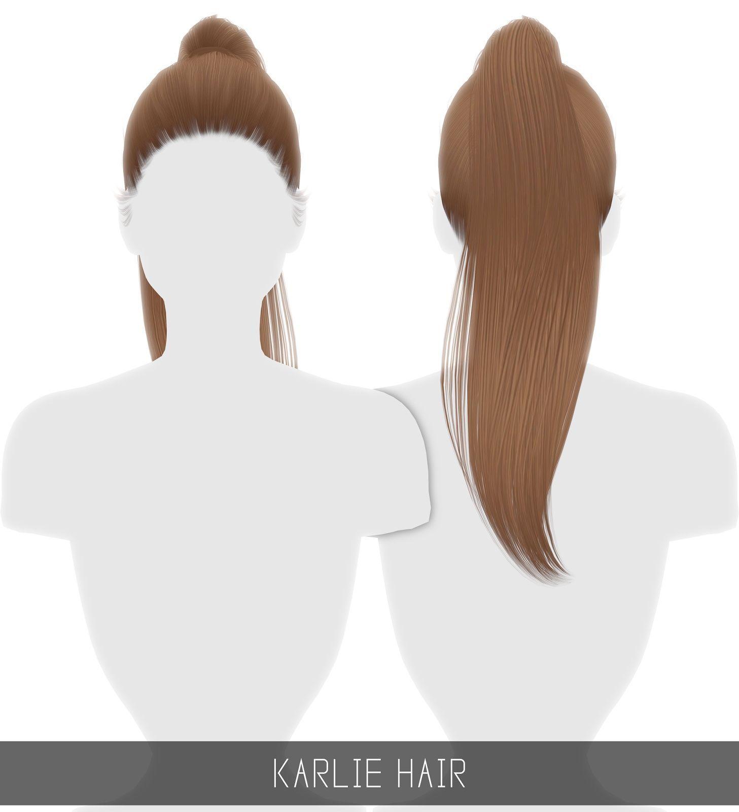 Photo of Sims 4 Hairs ~ Simpliciaty: Karlie hair #hairstuff Simpliciaty's Karlie hair – L …