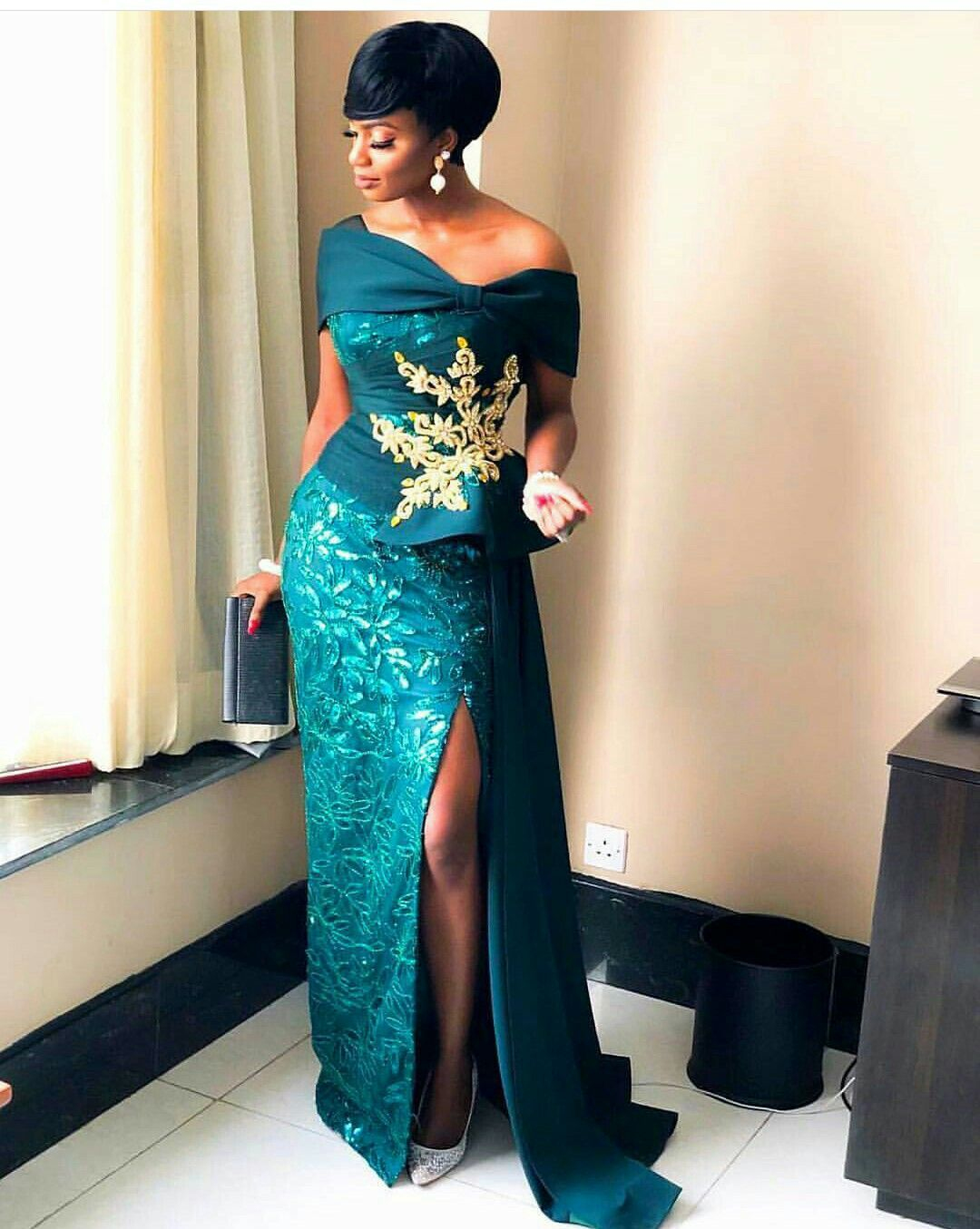 Beautiful Wedding Guest Fashion101 African Formal Dress Lace Gown Styles African Lace Styles