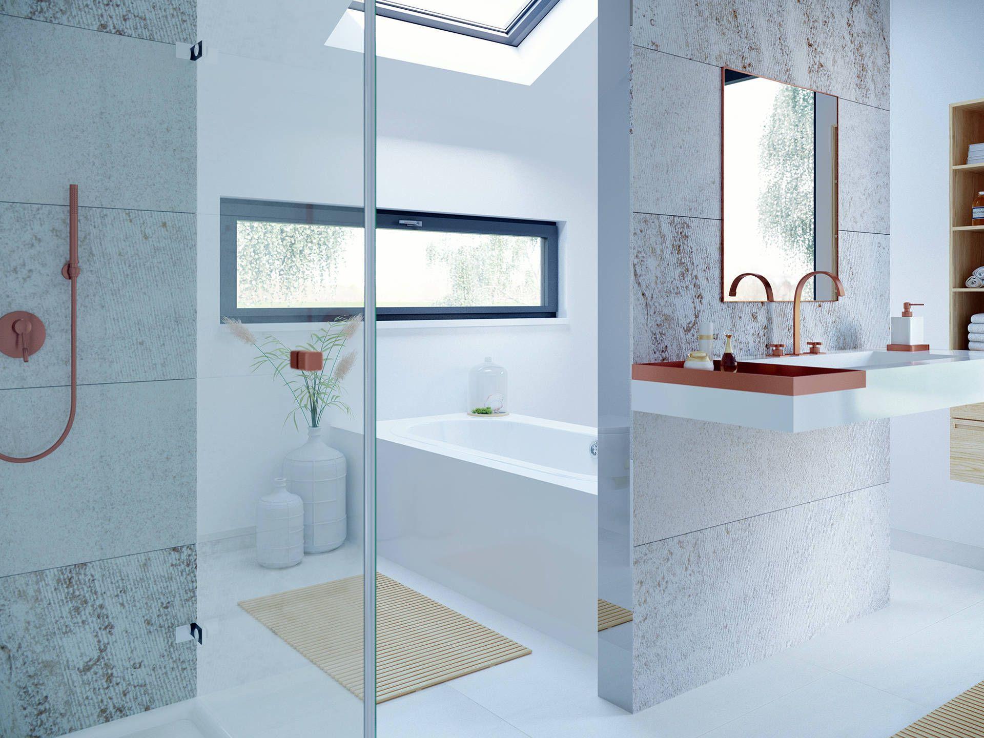 Wonderful Badezimmer Im Evolution Stuttgart U2013 Einfamilienhaus Von Bien Zenker U2022 Mit  Musterhaus.net Traumhaus