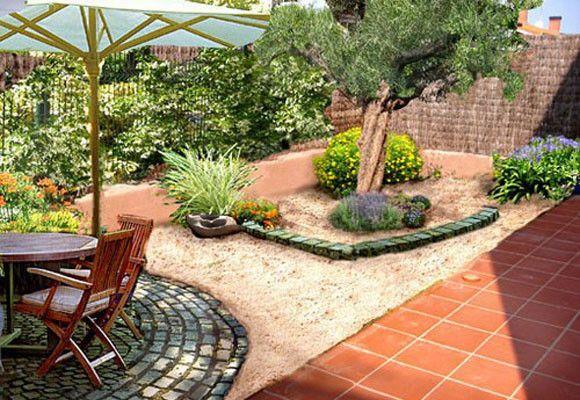 solar una terraza con adoquines my life in green