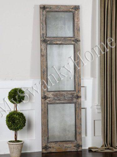Antiqued Rustic Blue Gray Wood Wall / Floor Mirror Smoked Neiman Marcus http://www.amazon.com/dp/B00DTO4CQ2/ref=cm_sw_r_pi_dp_RiuFub1341EQY