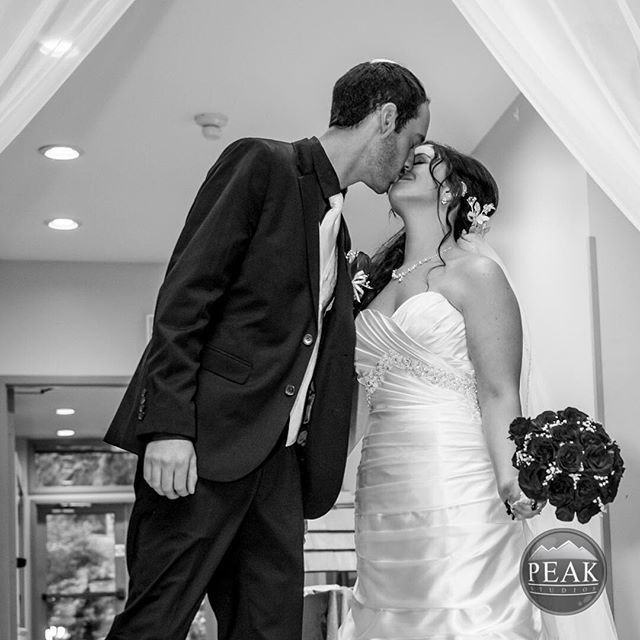 nice vancouver wedding A grand entrance sealed with a kiss #wedding #kiss by @peakstudiosbc  #vancouverwedding #vancouverwedding
