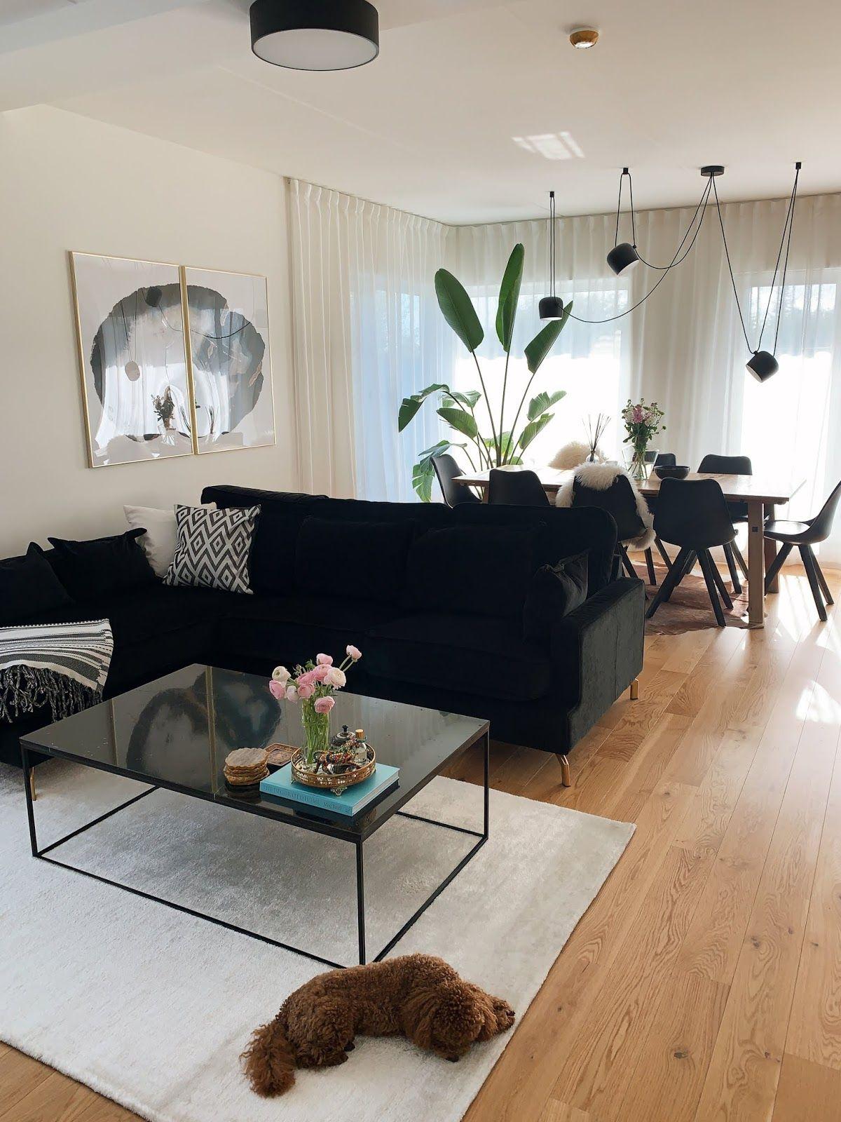 Black Sofa Living Room Decor Interior Design Pinterest Bellaxlovee Black Sofa Living Room Living Room Decor Apartment Black Sofa Living Room Decor