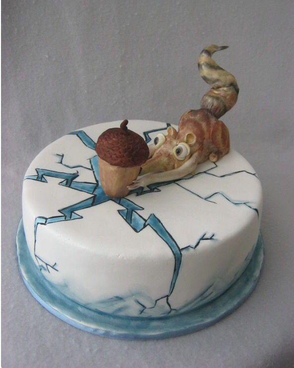 ice age  funny cake crazy cakes ice age cake