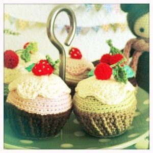 Cupcakes, nem opskrift med sjove masketyper