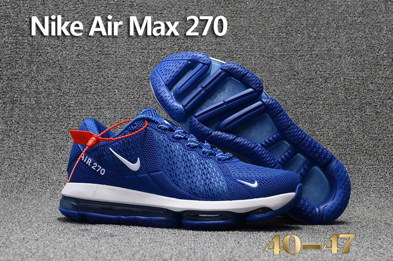 e12ac1be737f Cheap Nike Air Max Flair 270 KPU Blue White