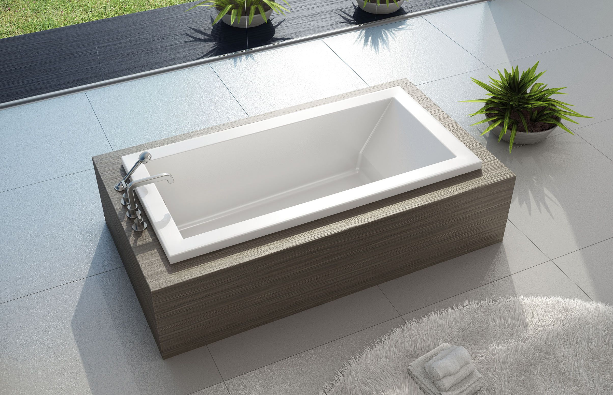 KAVA Drop-in bathtub - MAAX Collection | Dream Home | Pinterest ...
