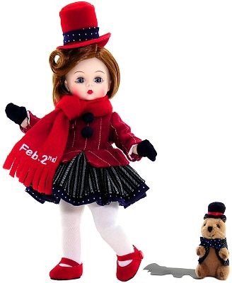 Mayor Wendy Celebrates Groundhog Day (outfit only, coat & skirt especially) #dollcare