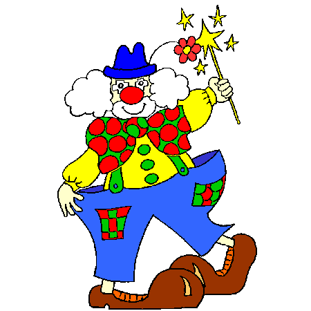Coloriage le clown a imprimer dessin colorier et dessin non colorier pinterest le clown - Coloriage clown a imprimer ...