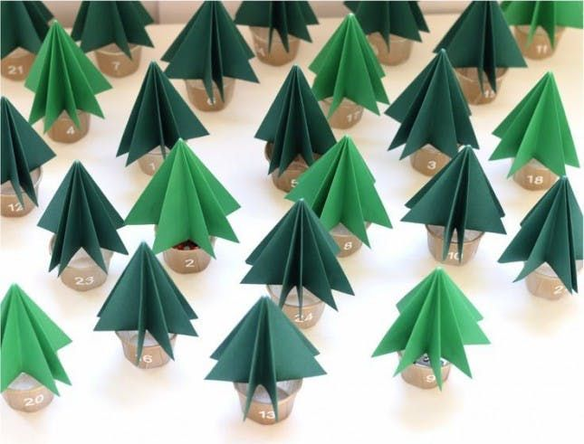 25 Festive + Easy Advent Calendars to Make Today Advent calendars