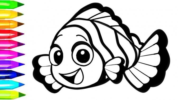 Contoh Gambar Hewan Yang Belum Diwarnai Gambar Mewarnai Ikan Yang Mudah Beserta Contoh Romadecade 50 Gambar Mewarnai Ya Halaman Mewarnai Buku Mewarnai Gambar
