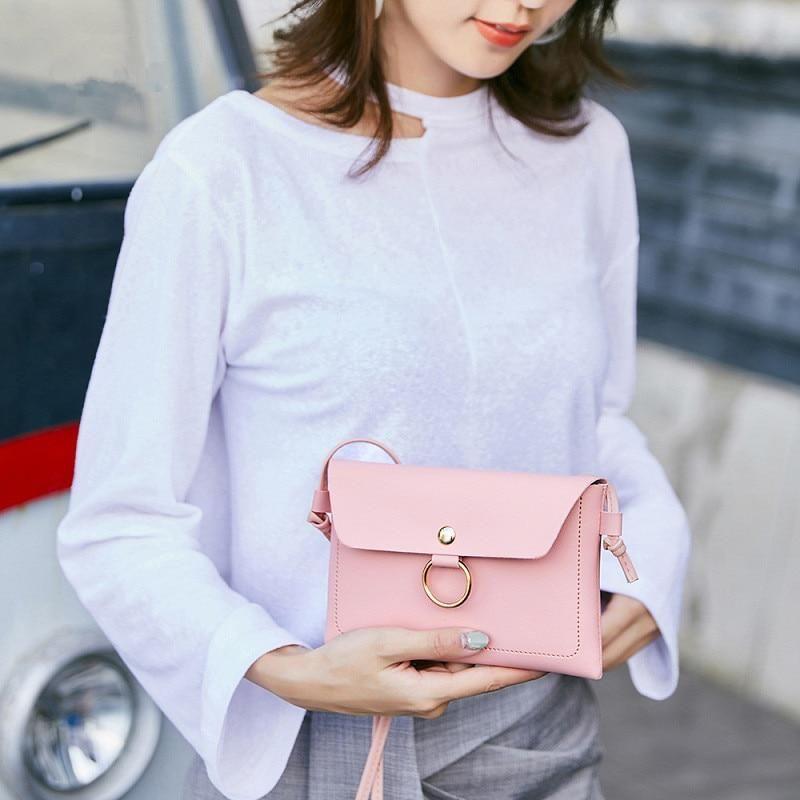 Bolsas para mujer 2019 Bolso simple para mujer Bolso de hombro Retro Casual Mini …