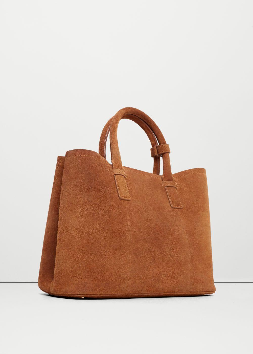 Sac Bag Cuir En Marron Women 2019Bags Leather Shopper vNO0wm8n