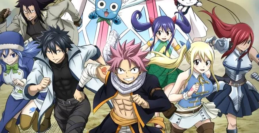 15 Best Adventure Anime Rmendation 11 in 2020 Fairy tail