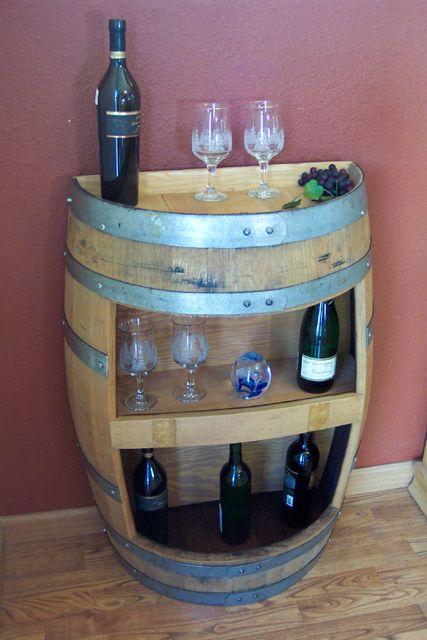 Botti Legno Per Arredamento.Idee Per Arredamento Con Botti Bar Cassetta Del Vino Botti Di Vino Arredamento