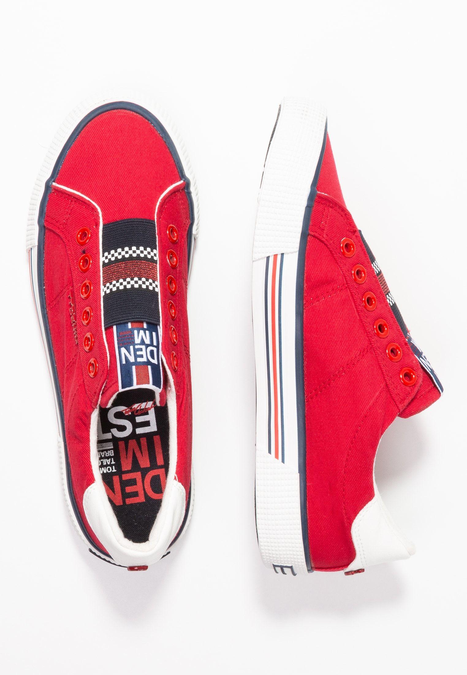 Tom Tailor Denim Polbuty Wsuwane Red Zalando Pl Vans Sneaker Vans Authentic Sneaker Sneakers